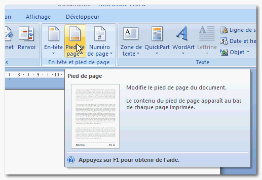 Comment arreter numerotation pages word - Comment numeroter des pages sur open office ...