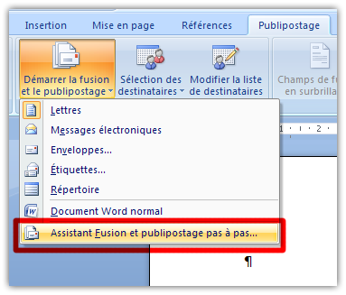 Comment on dit merge en word fran ais r solu - Comment faire un publipostage sur open office ...